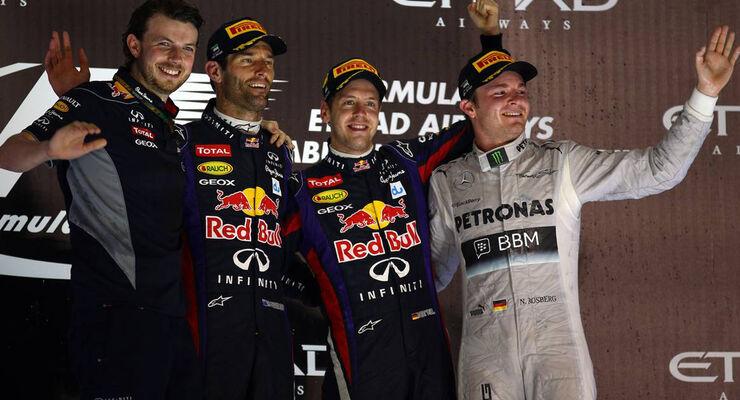 Sebastian Vettel Formel 1 GP Abu Dhabi 2013