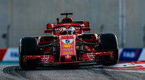 Sebastian Vettel - Formel 1 - GP Abu Dhabi 2018