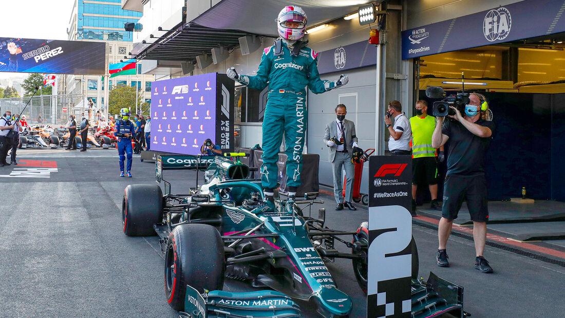 Sebastian Vettel - Formel 1 - GP Aserbaidschan 2021