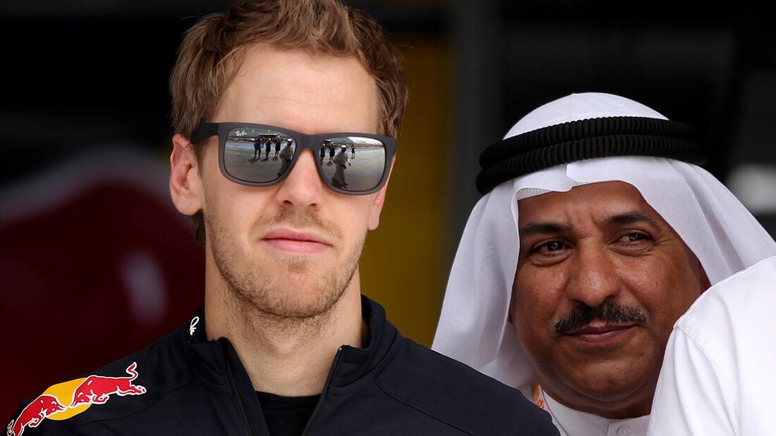 Sebastian Vettel - Formel 1 - GP Bahrain - 19. April 2012
