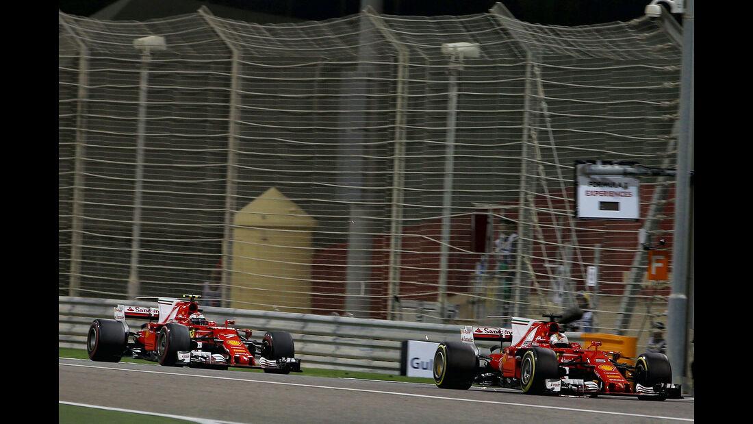 Sebastian Vettel - Formel 1 - GP Bahrain 2017