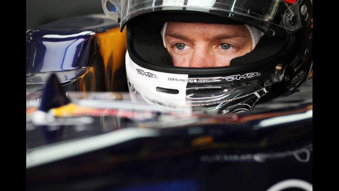 Sebastian Vettel - Formel 1 - GP Bahrain - 21. April 2012