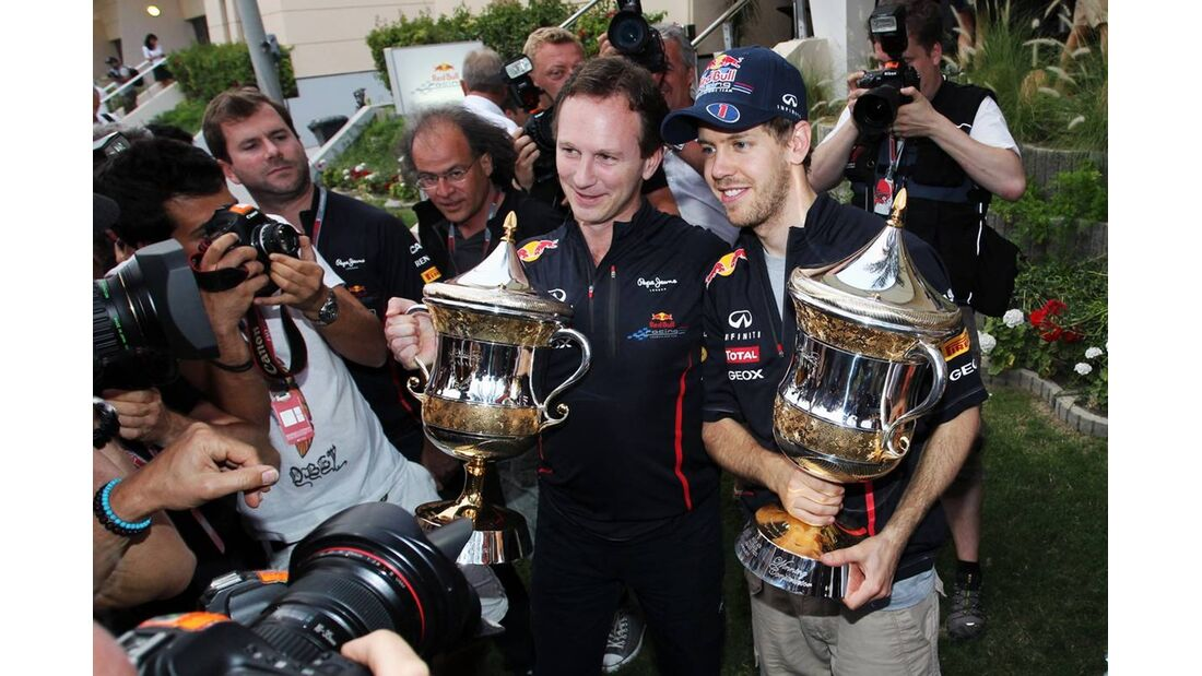 Sebastian Vettel  - Formel 1 - GP Bahrain - 22. April 2012