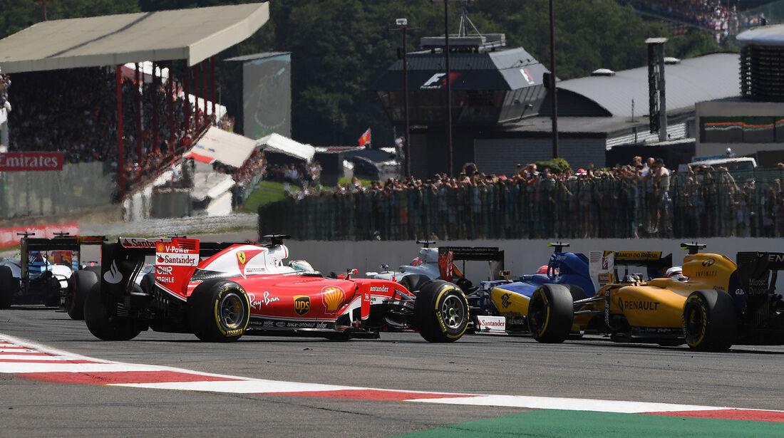 Sebastian Vettel - Formel 1 - GP Belgien 2016
