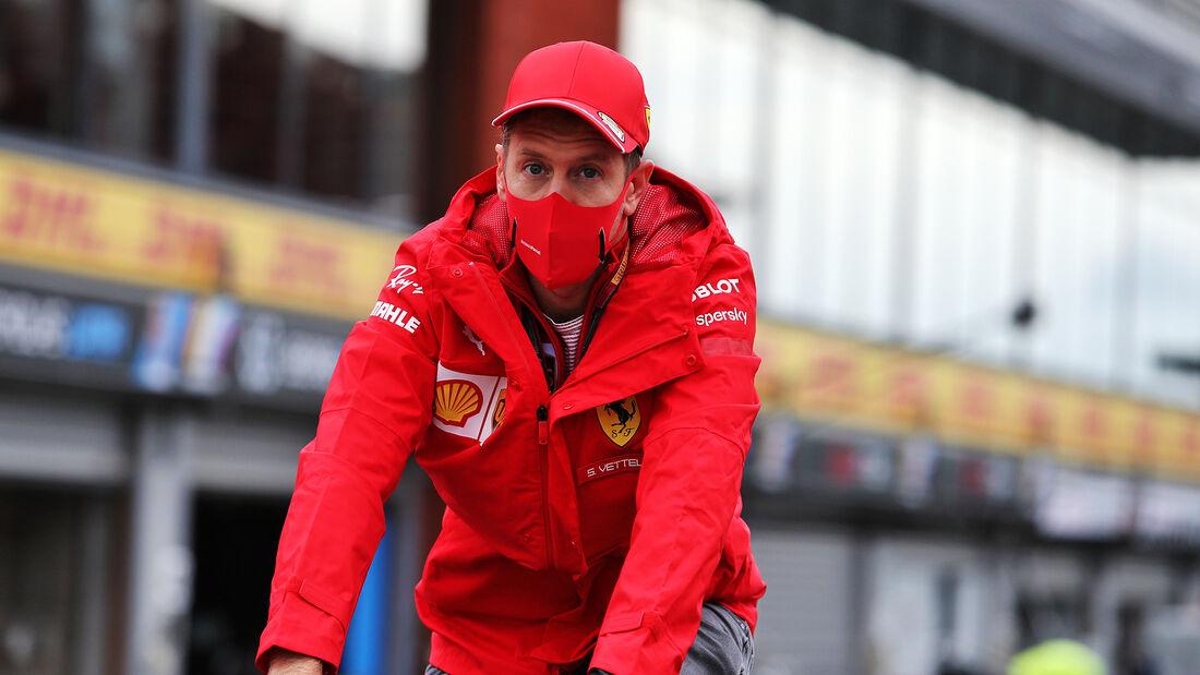 Sebastian Vettel - Formel 1 - GP Belgien - Spa-Francorchamps - Donnerstag - 27. August 2020