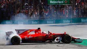 Sebastian Vettel - Formel 1 - GP Brasilien - 12. November 2017