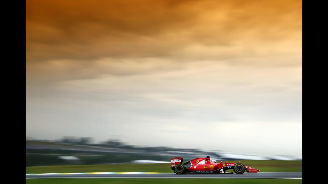 Sebastian Vettel - Formel 1 - GP Brasilien- 13. November 2015