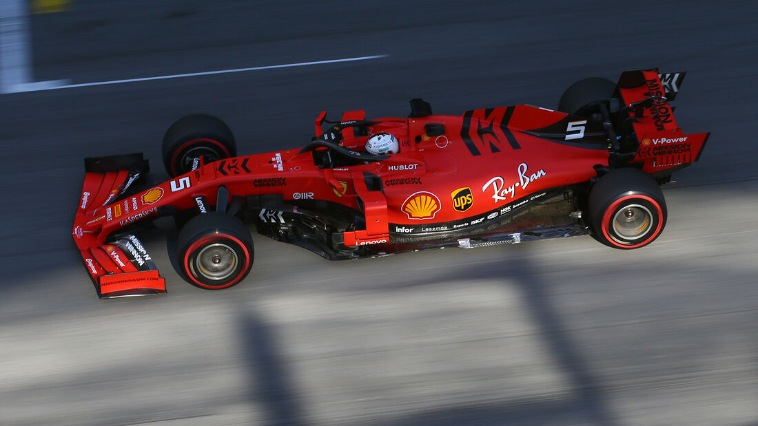 Sebastian Vettel - Formel 1 - GP Brasilien 2019