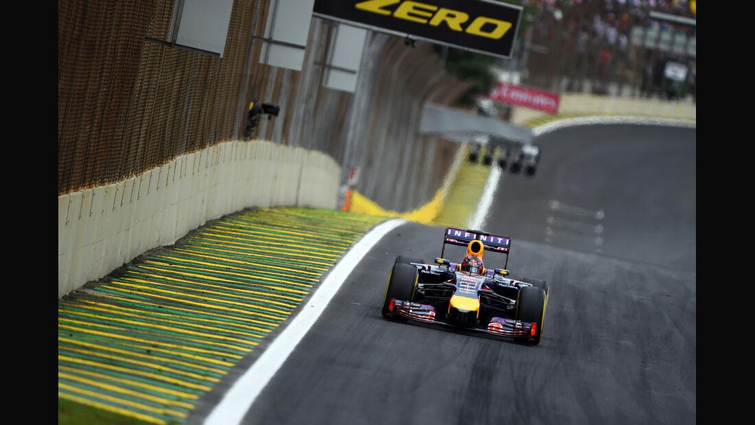 Sebastian Vettel - Formel 1 - GP Brasilien - 8. November 2014