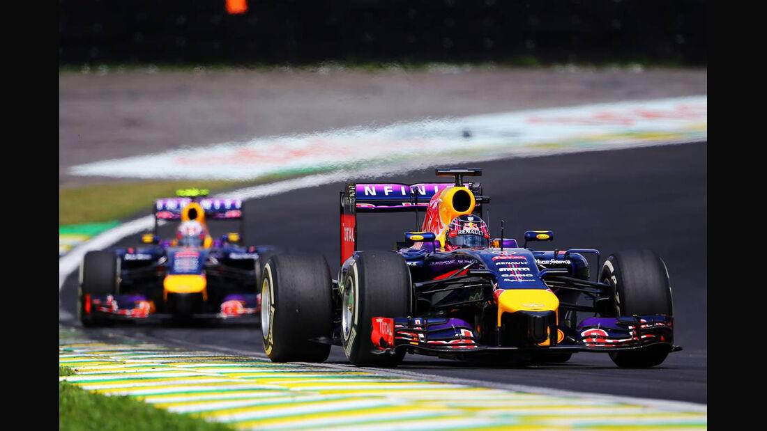 Sebastian Vettel  - Formel 1 - GP Brasilien - 9. November 2014