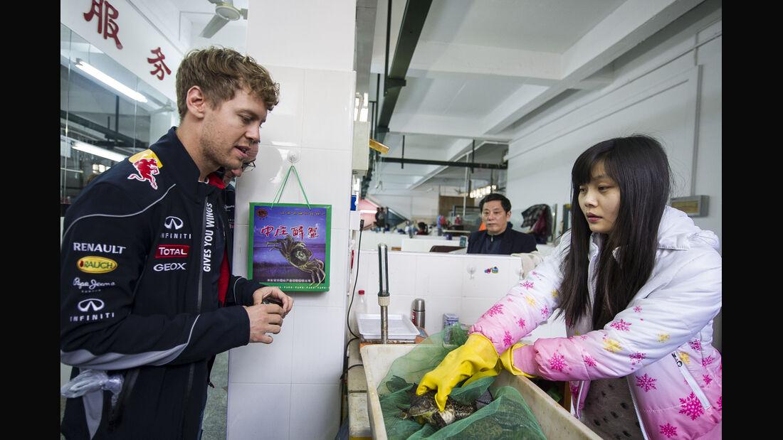 Sebastian Vettel - Formel 1 - GP China - 10. April 2013