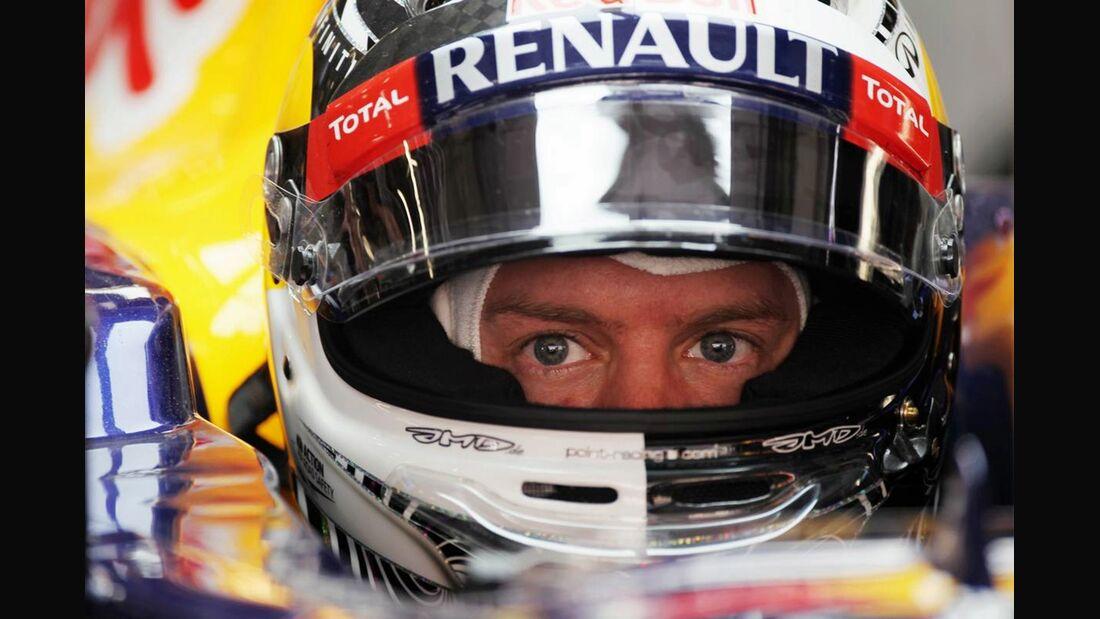 Sebastian Vettel  - Formel 1 - GP China - 14. April 2012