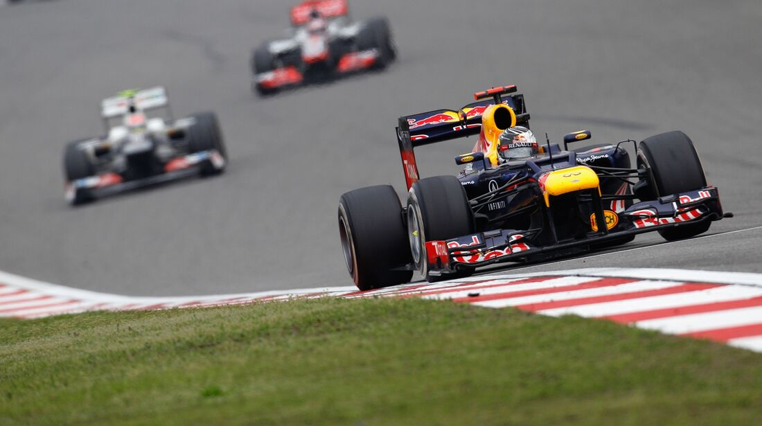 Sebastian Vettel  - Formel 1 - GP China - 15. April 2012