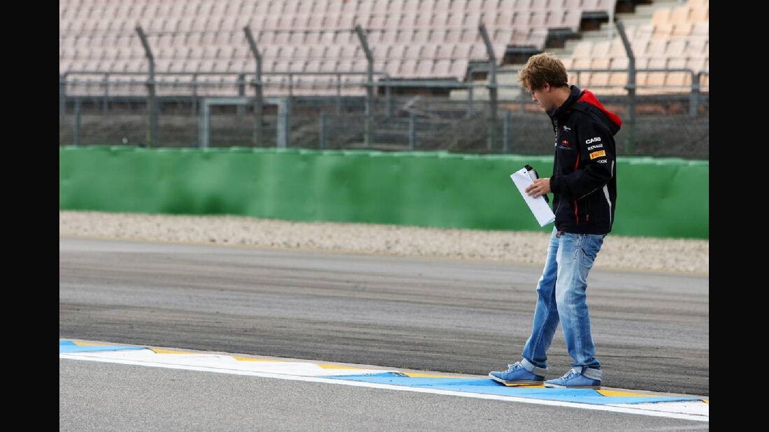 Sebastian Vettel - Formel 1 - GP Deutschland - 19. Juli 2012