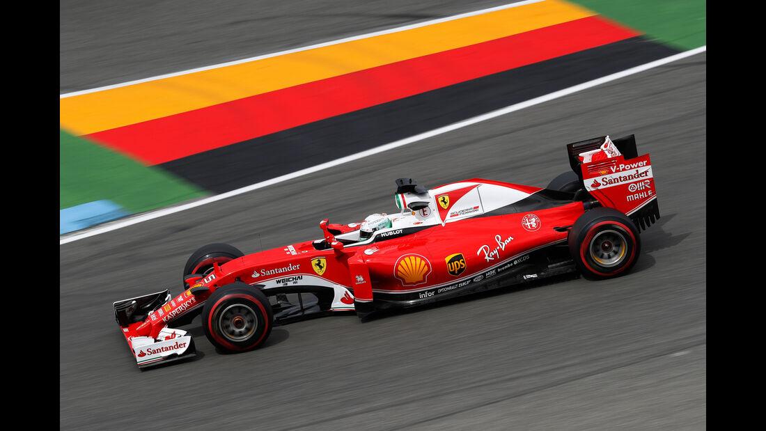 Sebastian Vettel - Formel 1 - GP Deutschland 2016