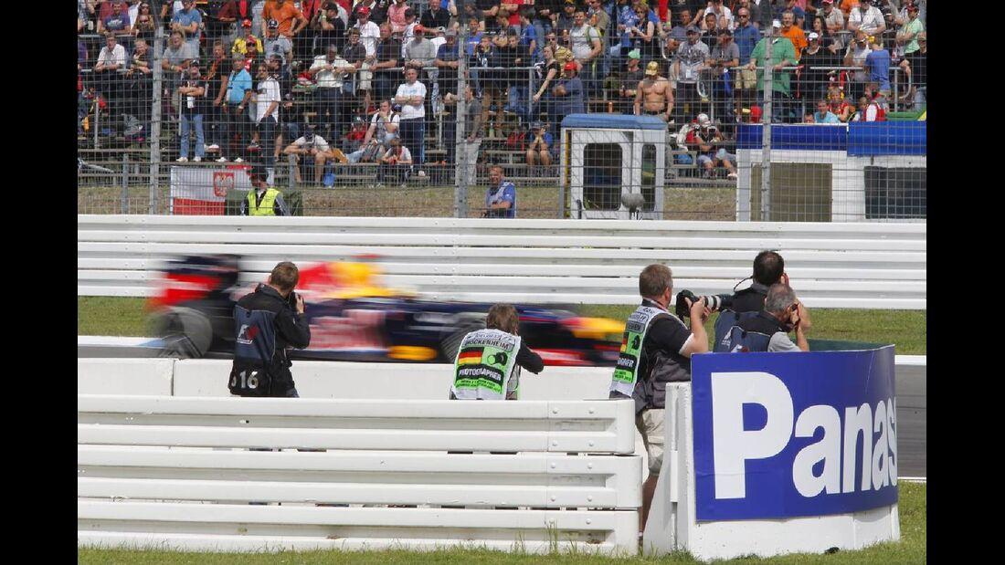 Sebastian Vettel - Formel 1 - GP Deutschland - 21. Juli 2012