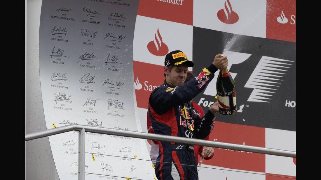 Sebastian Vettel - Formel 1 - GP Deutschland - 22. Juli 2012