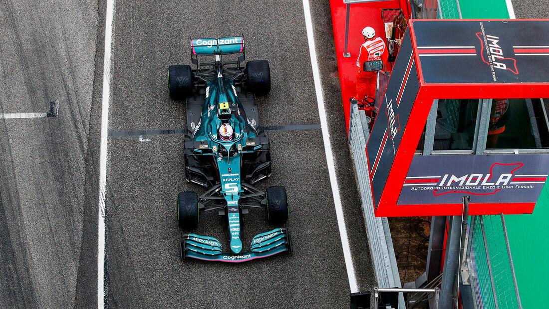Sebastian Vettel - Formel 1 - GP Emilia Romagna - Imola 2021