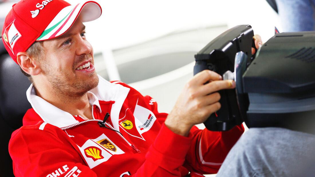 Sebastian Vettel - Formel 1 - GP England - 13. Juli 2017