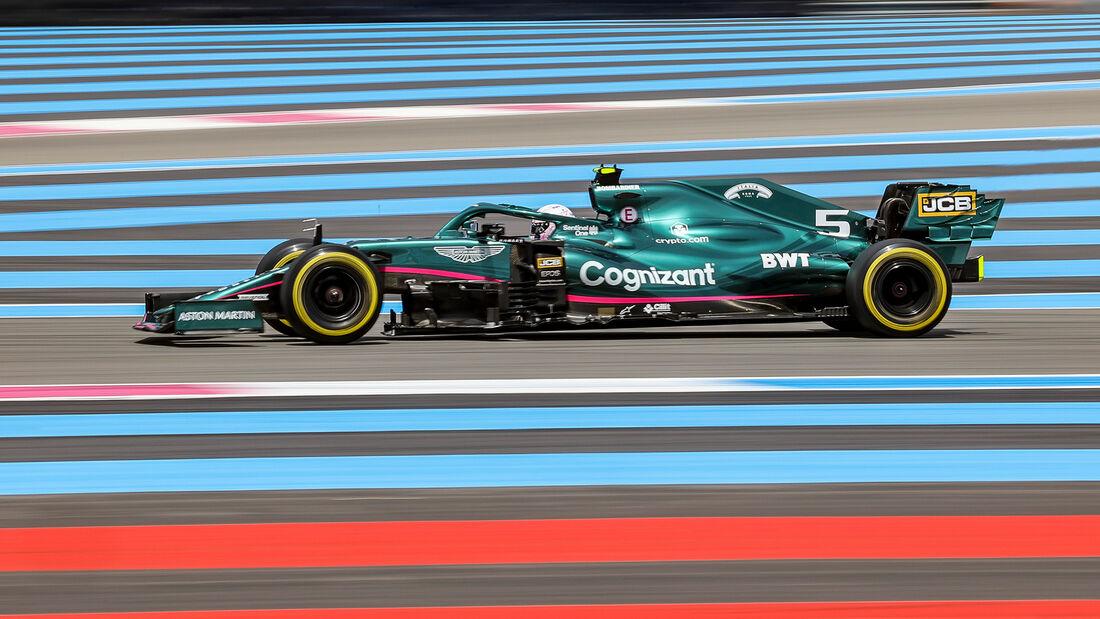 Sebastian Vettel - Formel 1 - GP Frankreich 2021