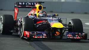 Sebastian Vettel Formel 1 GP Indien 2013