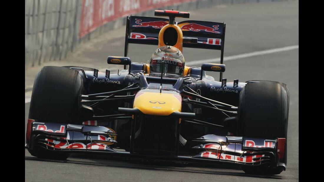 Sebastian Vettel - Formel 1 - GP Indien - 27. Oktober 2012