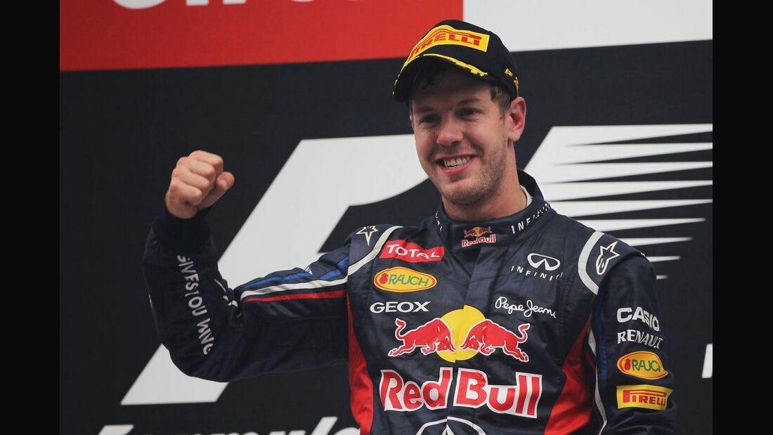 Sebastian Vettel - Formel 1 - GP Indien - 28. Oktober 2012