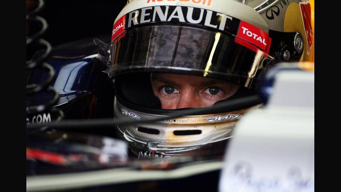 Sebastian Vettel  - Formel 1 - GP Italien - 07. September 2012