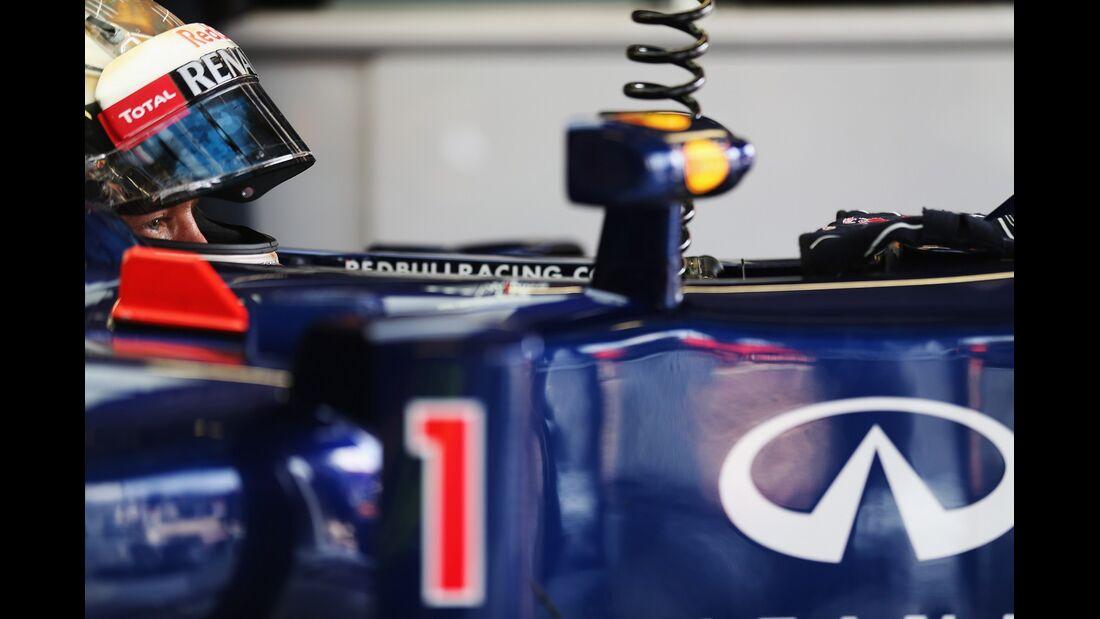 Sebastian Vettel - Formel 1 - GP Italien - 08. September 2012