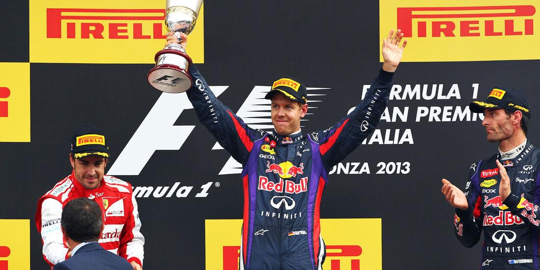 Sebastian Vettel - Formel 1 - GP Italien 2013