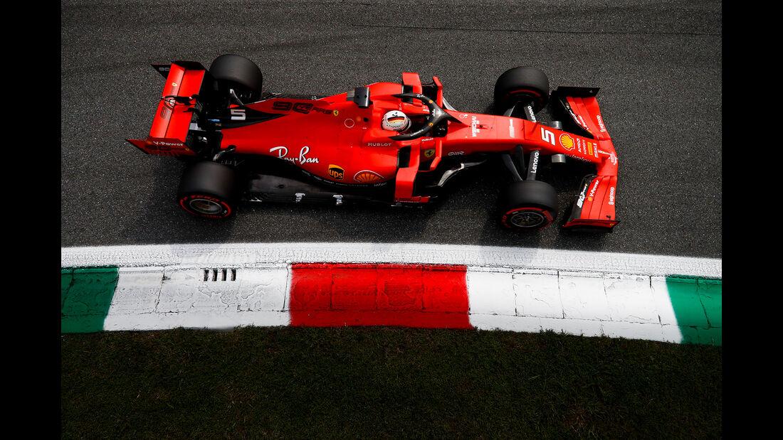 Sebastian Vettel - Formel 1 - GP Italien 2019