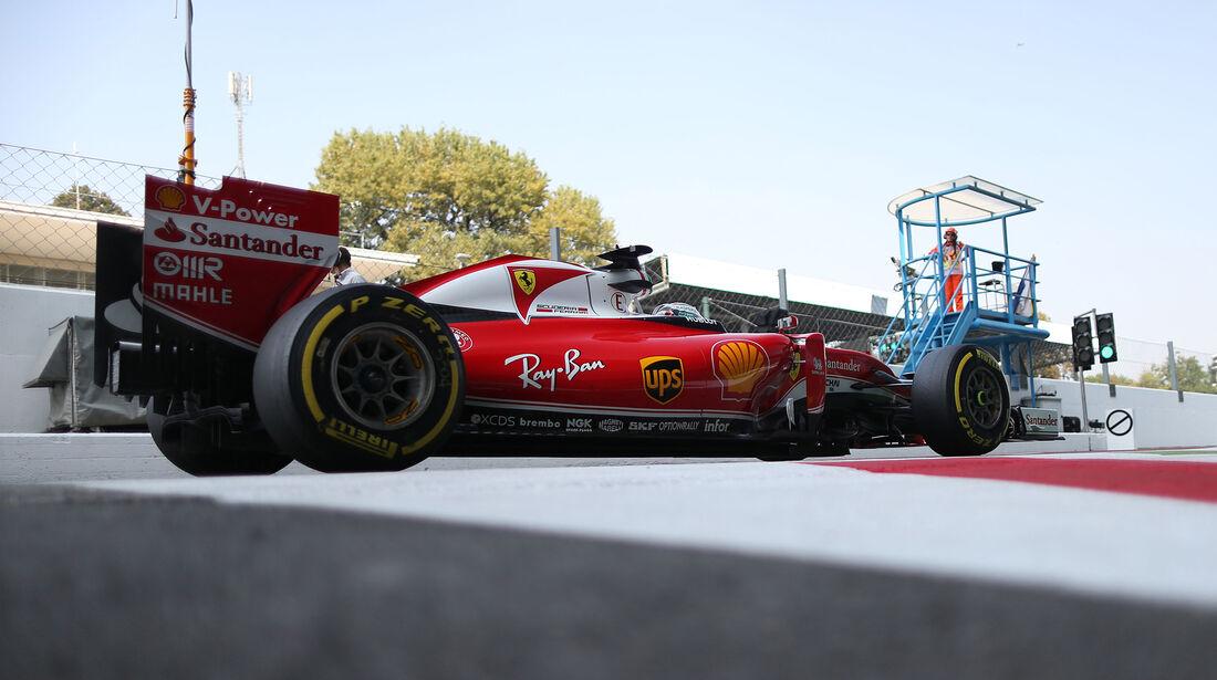 Sebastian Vettel - Formel 1 - GP Italien - Monza - 2. September 2016