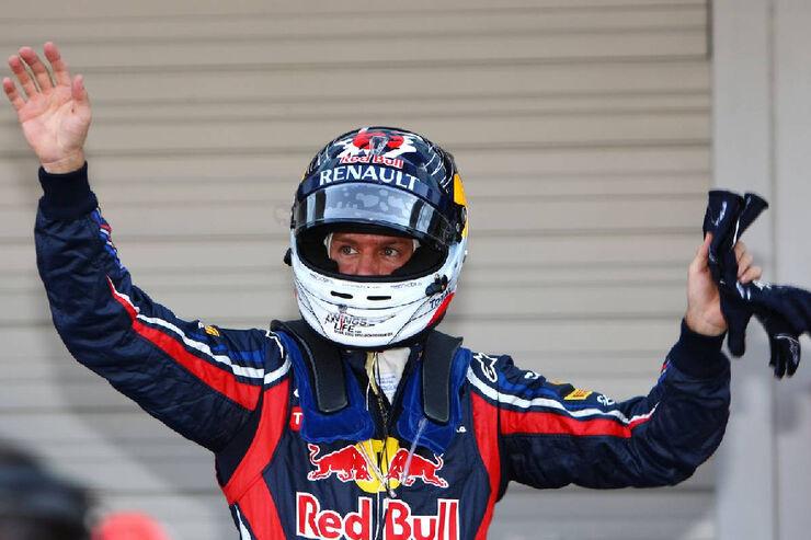 Sebastian Vettel - Formel 1 - GP Japan - 08. Oktober 2011