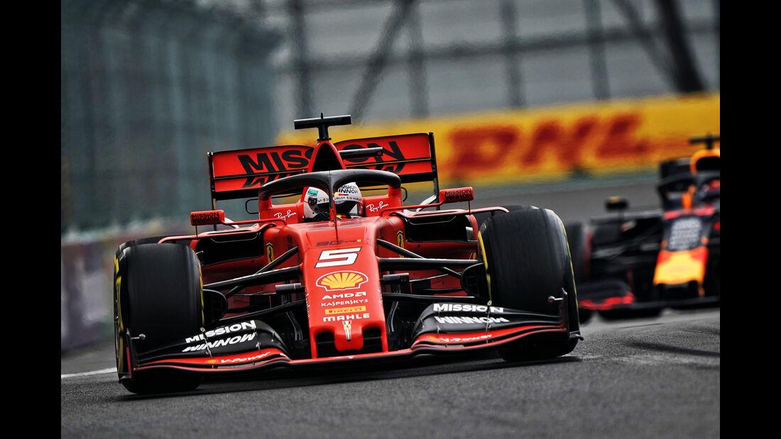 Sebastian Vettel - Formel 1 - GP Mexico 2019