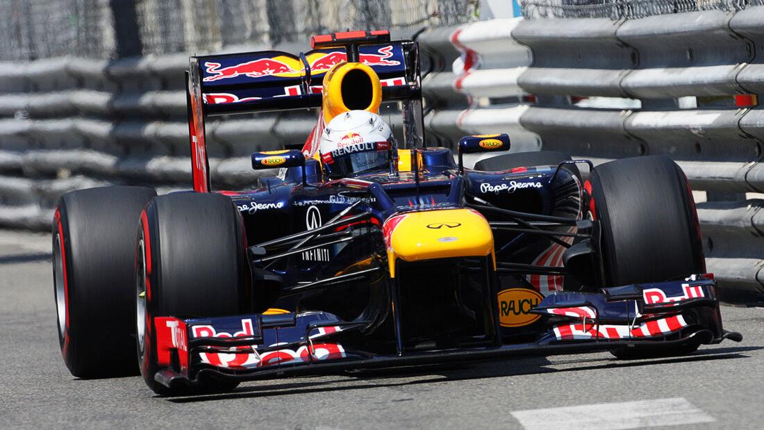 Sebastian Vettel - Formel 1 - GP Monaco 2012