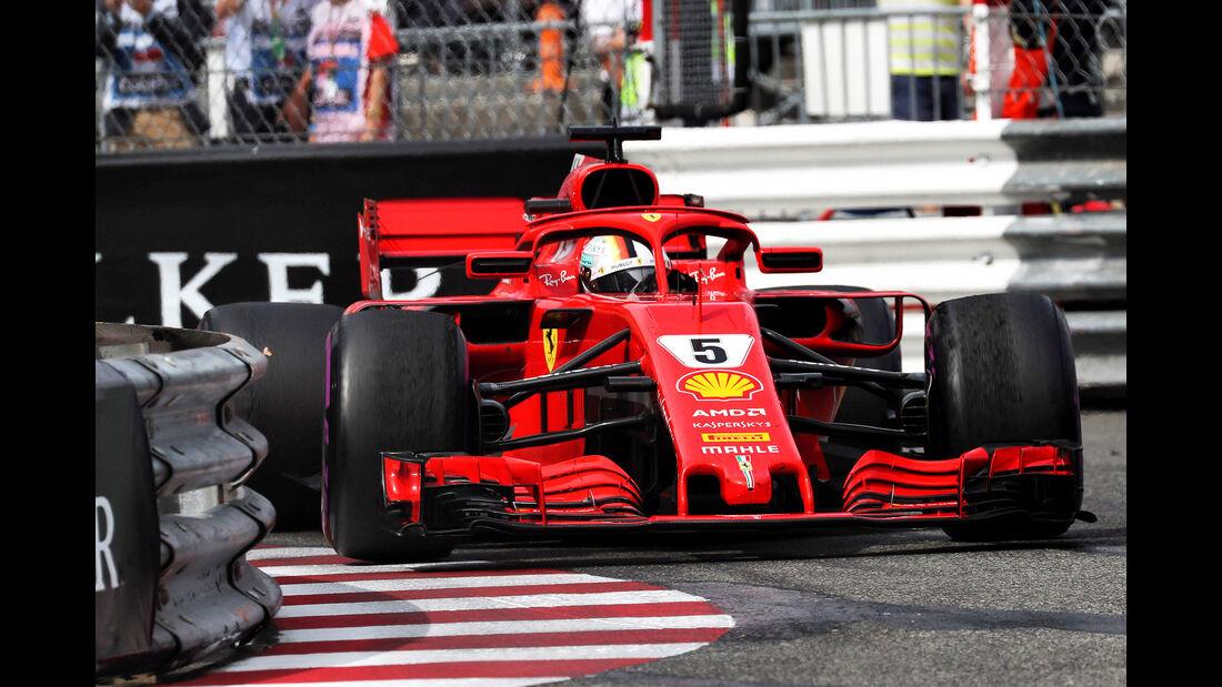 Sebastian Vettel - Formel 1 - GP Monaco 2018