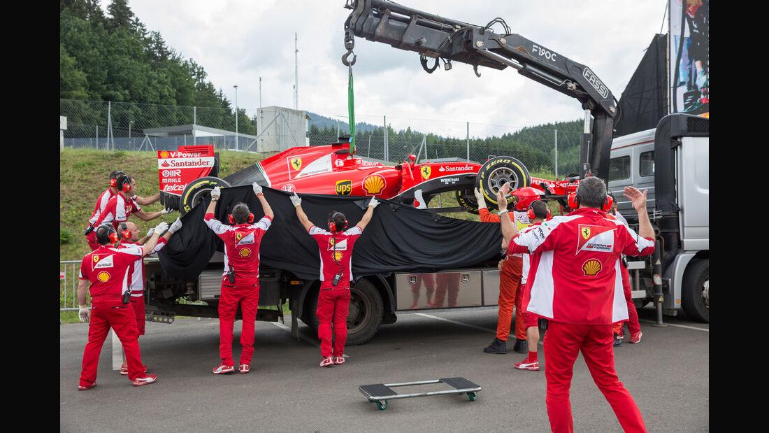 Sebastian Vettel - Formel 1 - GP Österreich 2015 - Danis Bilderkiste