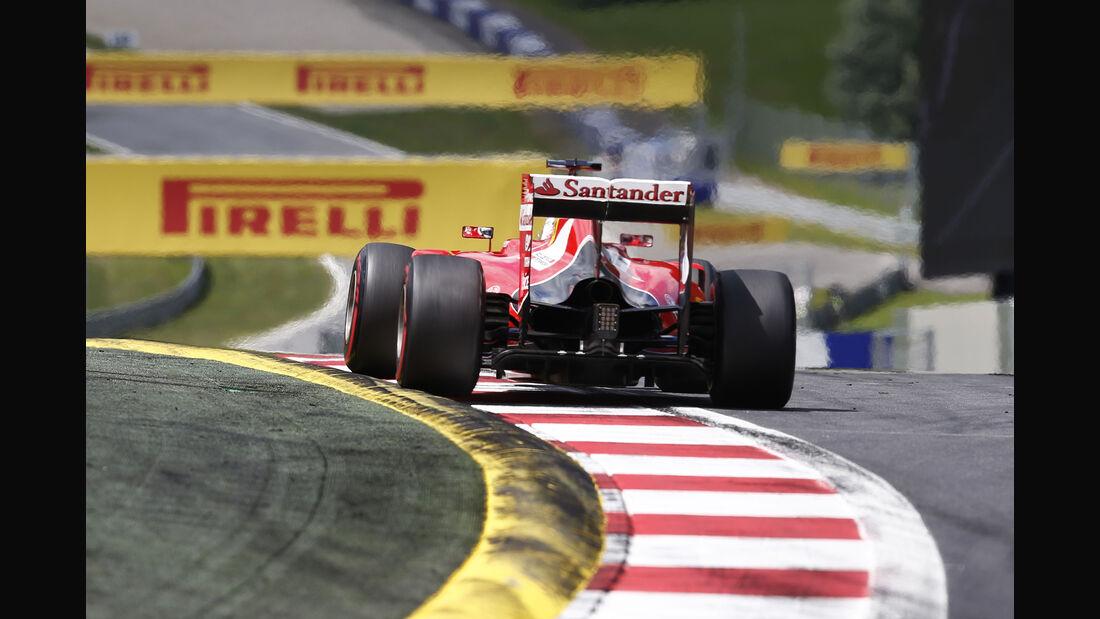 Sebastian Vettel - Formel 1 - GP Österreich 2015