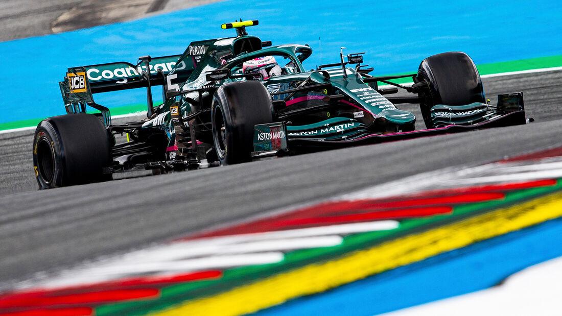 Sebastian Vettel - Formel 1 - GP Österreich 2021