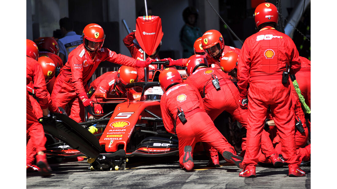 Sebastian Vettel - Formel 1 - GP Österreich - Spielberg - 30. Juni 2019