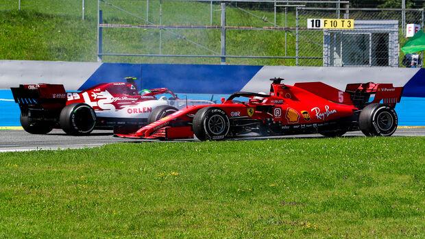 Sebastian Vettel - Formel 1 - GP Österreich - Spielberg - 5. Juli 2020