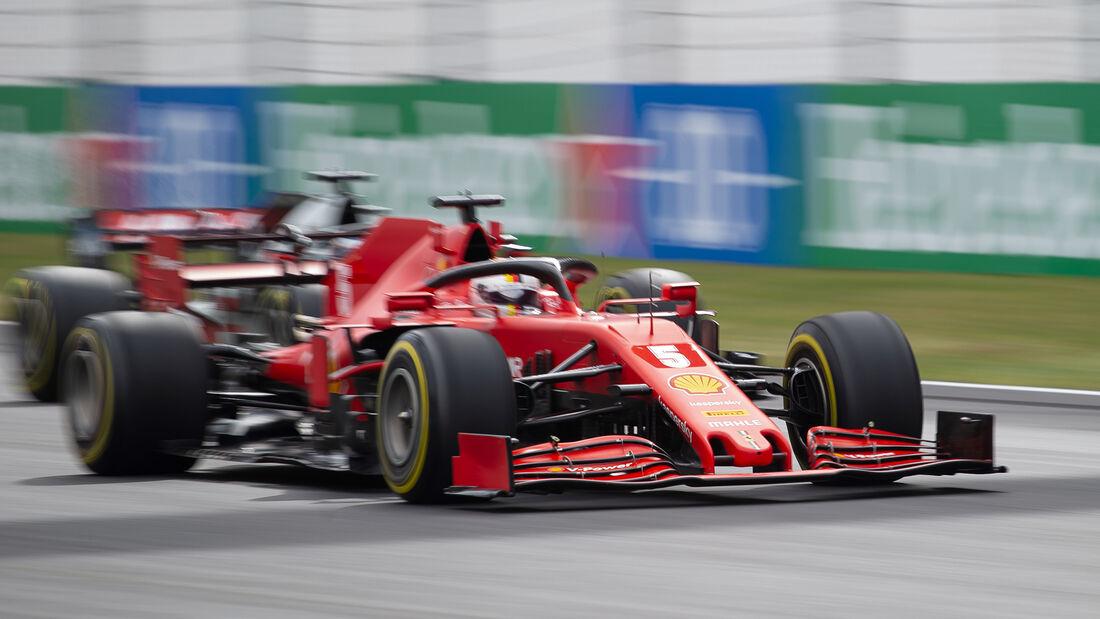 Sebastian Vettel - Formel 1 - GP Portugal 2020