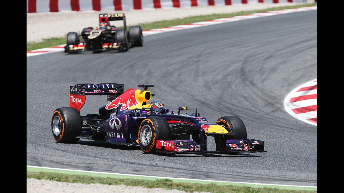 Sebastian Vettel - Formel 1 - GP Spanien 2013