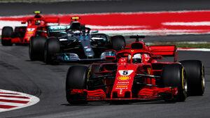 Sebastian Vettel - Formel 1 - GP Spanien 2018