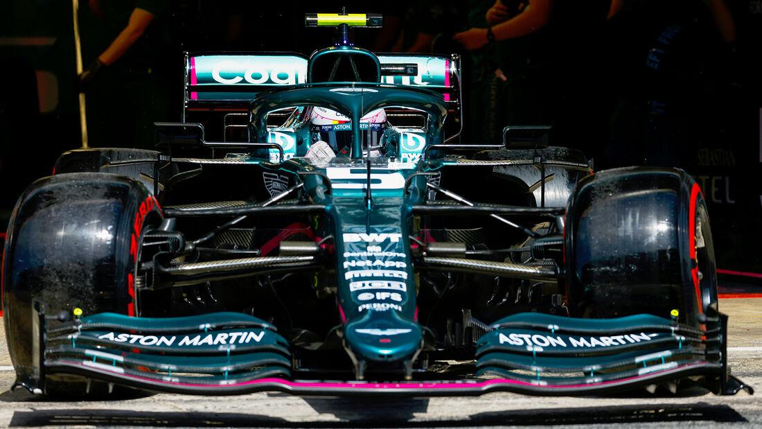 Sebastian Vettel - Formel 1 - GP Spanien 2021