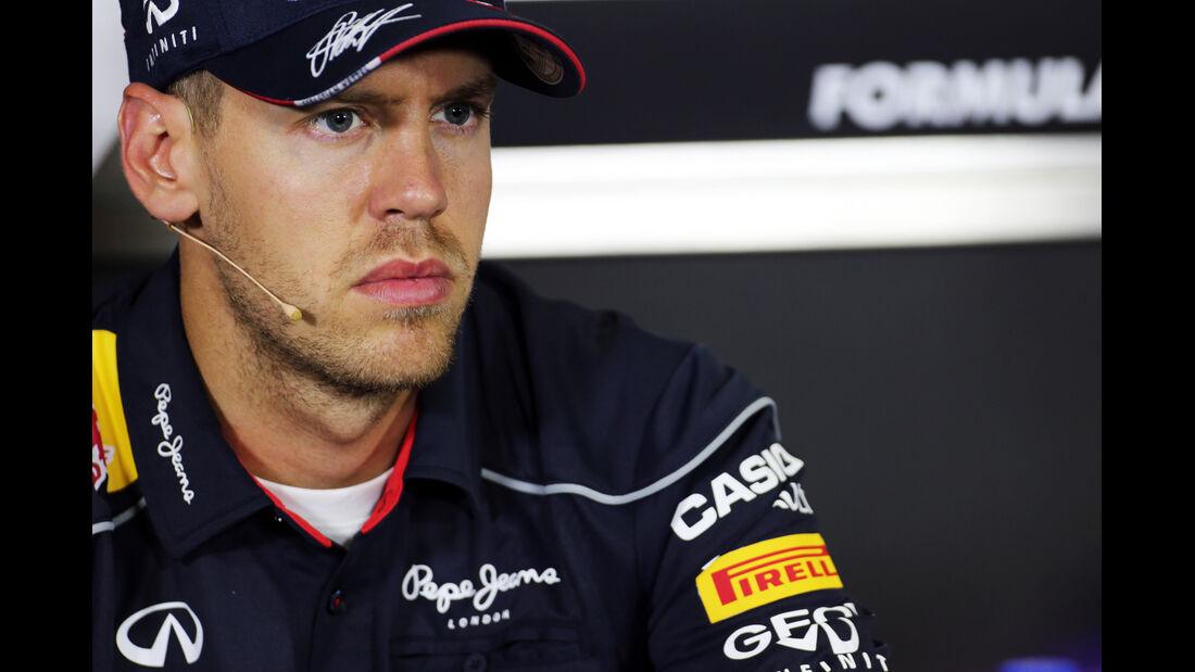 Sebastian Vettel - Formel 1 - GP Spanien - 9. Mai 2013