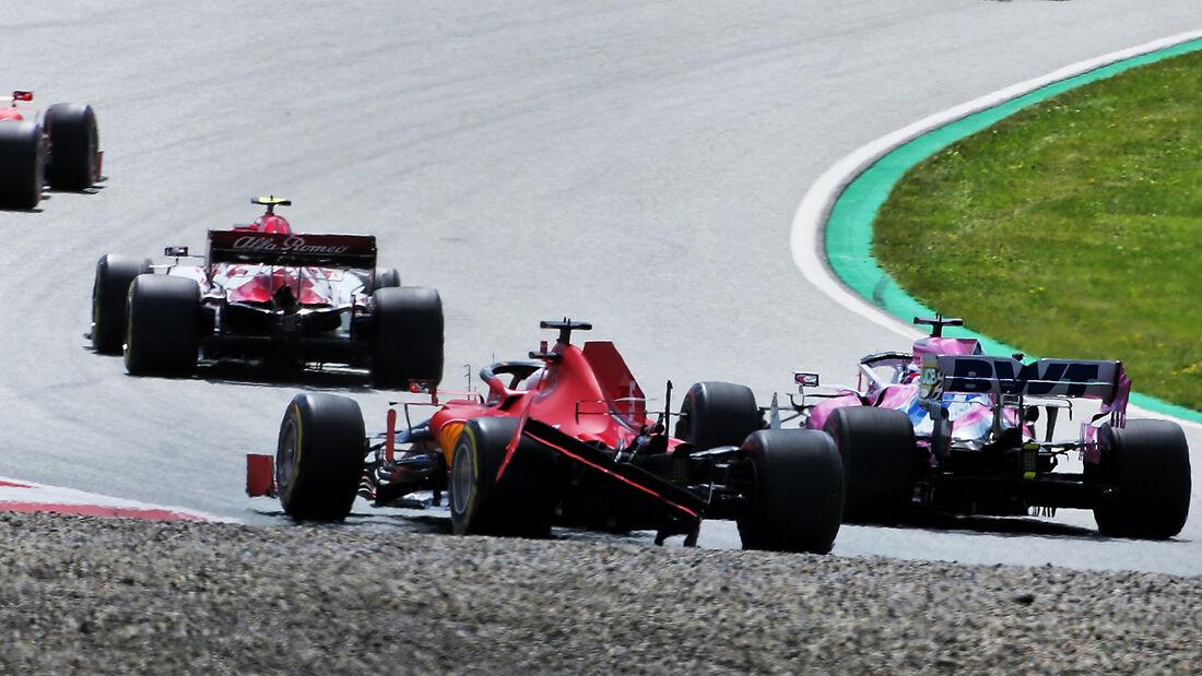 Sebastian Vettel - Formel 1 - GP Steiermark - Österreich - 2020