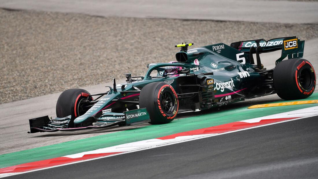 Sebastian Vettel - Formel 1 - GP Türkei - Istanbul - 2021