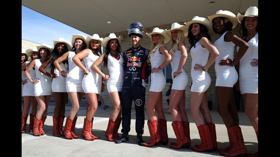 Sebastian Vettel - Formel 1 - GP USA - 2. November 2014