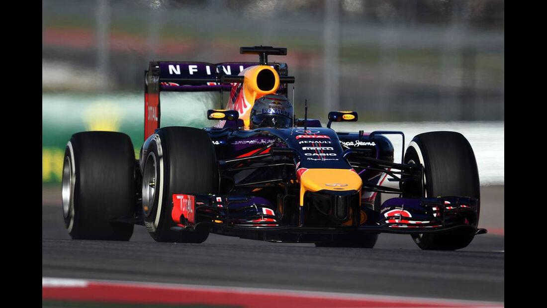 Sebastian Vettel  - Formel 1 - GP USA - 31. Oktober 2014
